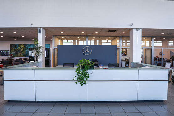 reception filiale mercedes-benz Reggio Emilia